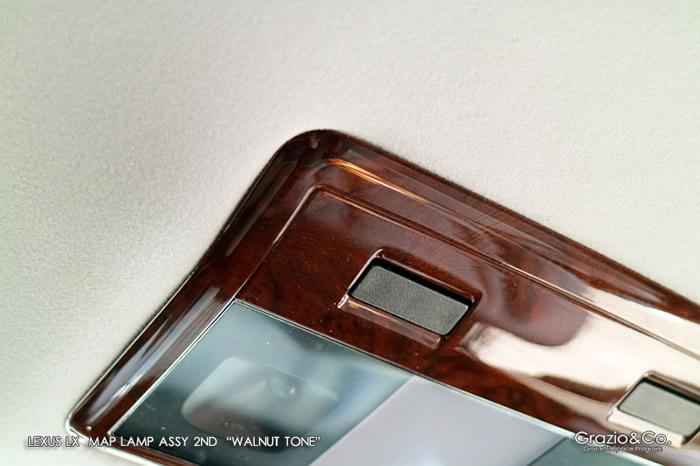レクサスLX専用 2列目 マップランプ ASSY (グラージオ)