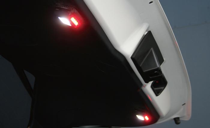 レクサス NX専用 LEDバックドアセーフティランプ(LXモード)
