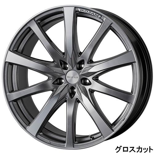 レクサス RX専用 ホイール&タイヤセット(ロジャム ヴェクトル・22インチ)