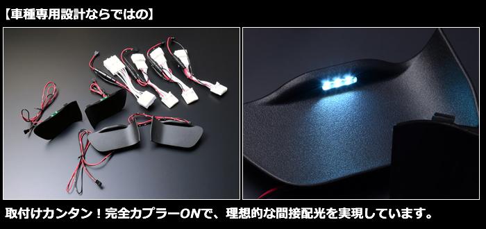レクサス UX専用 LEDインナードアイルミネーション